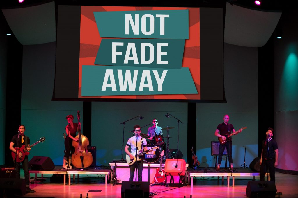 Promotional image for Not Fade Away