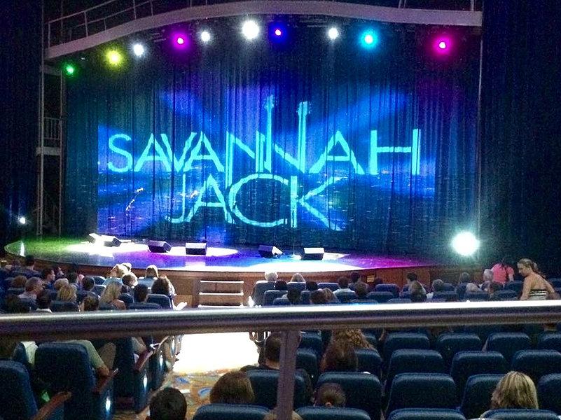 Photo of Savannah Jack stage before opening